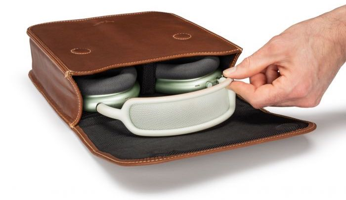 Pad & Quill Brief leather AirPods cases
