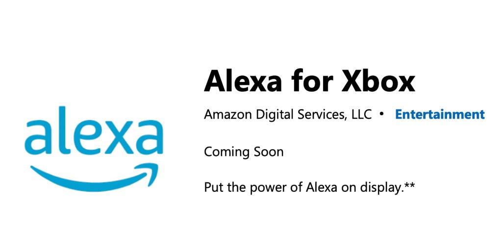 Xbox Alexa app