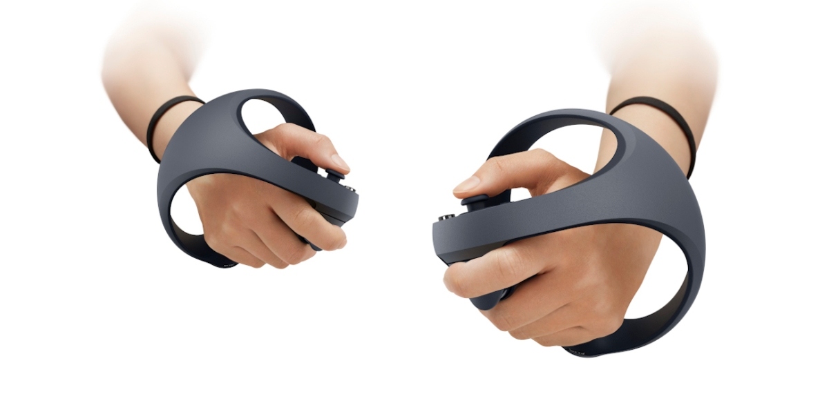 new PS VR controllers