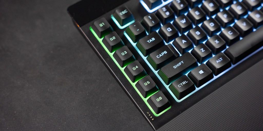 Macro keys on the Corsair K55 RGB Pro XT