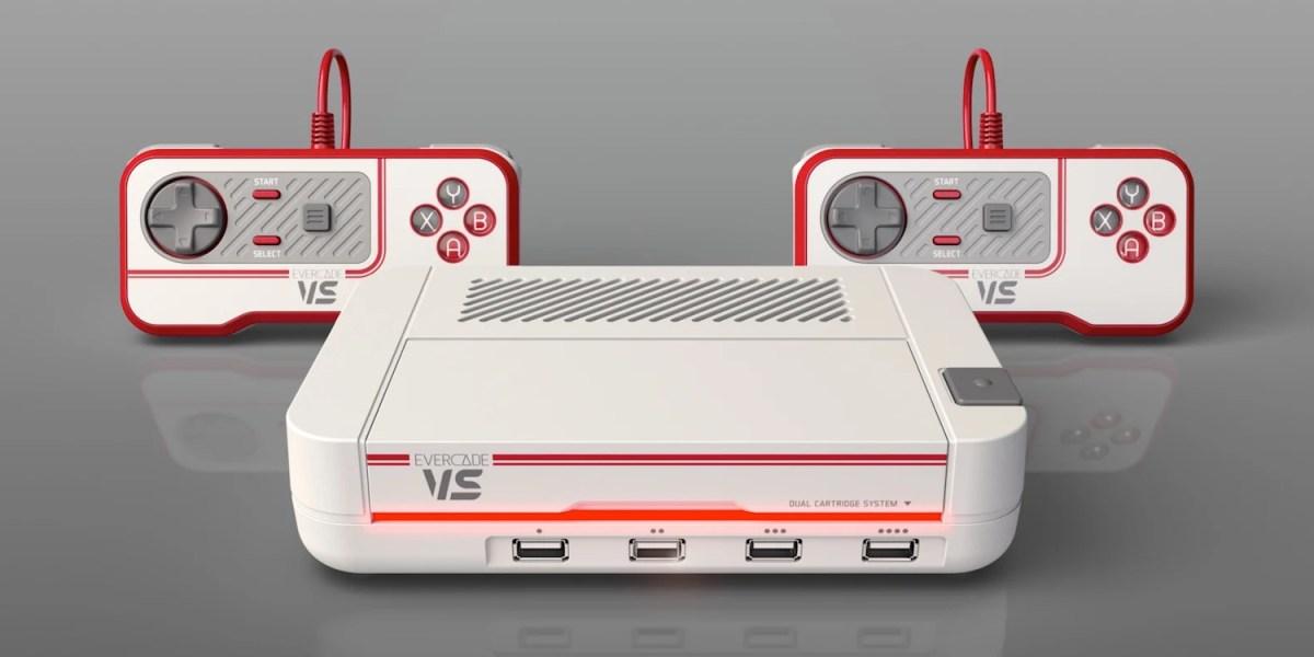 Evercade VS console with multi-player