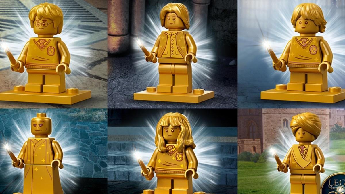 LEGO Golden Harry Potter