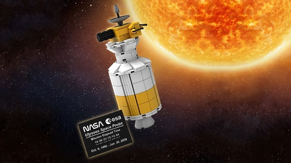 LEGO Ulysses Space Probe
