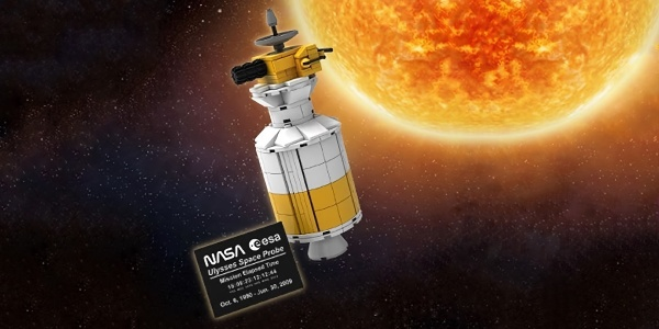 LEGO Ulysses Space Probe