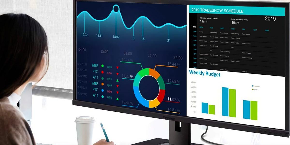 ViewSonic UltraWide monitor