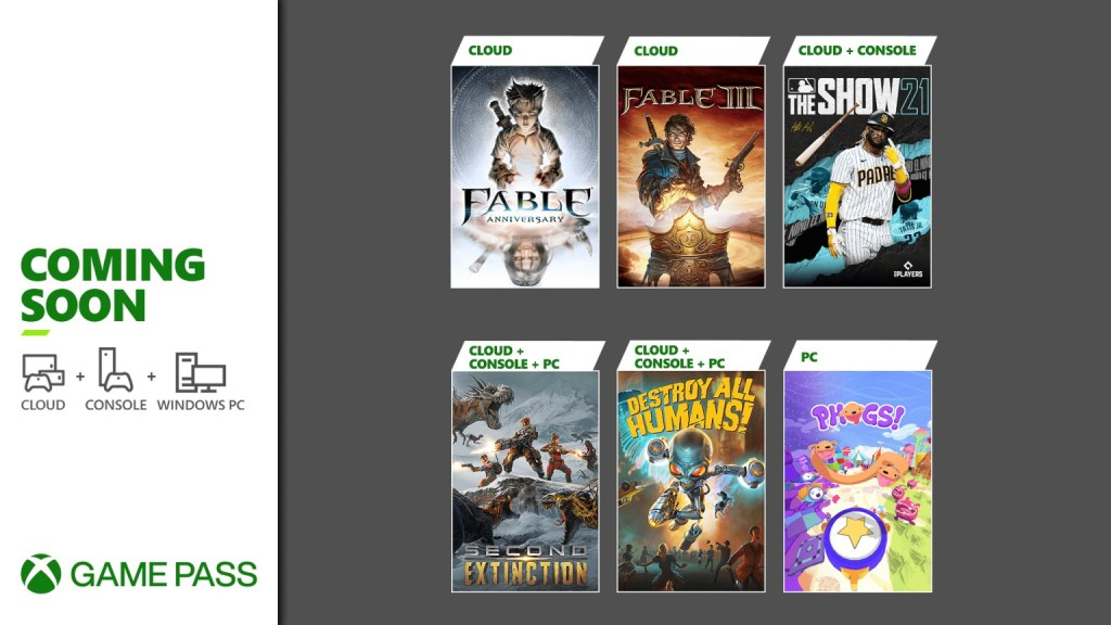 Xbox Game Pass members - MLB The Show 21 and more