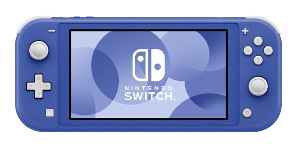 new Nintendo Switch Lite in blue