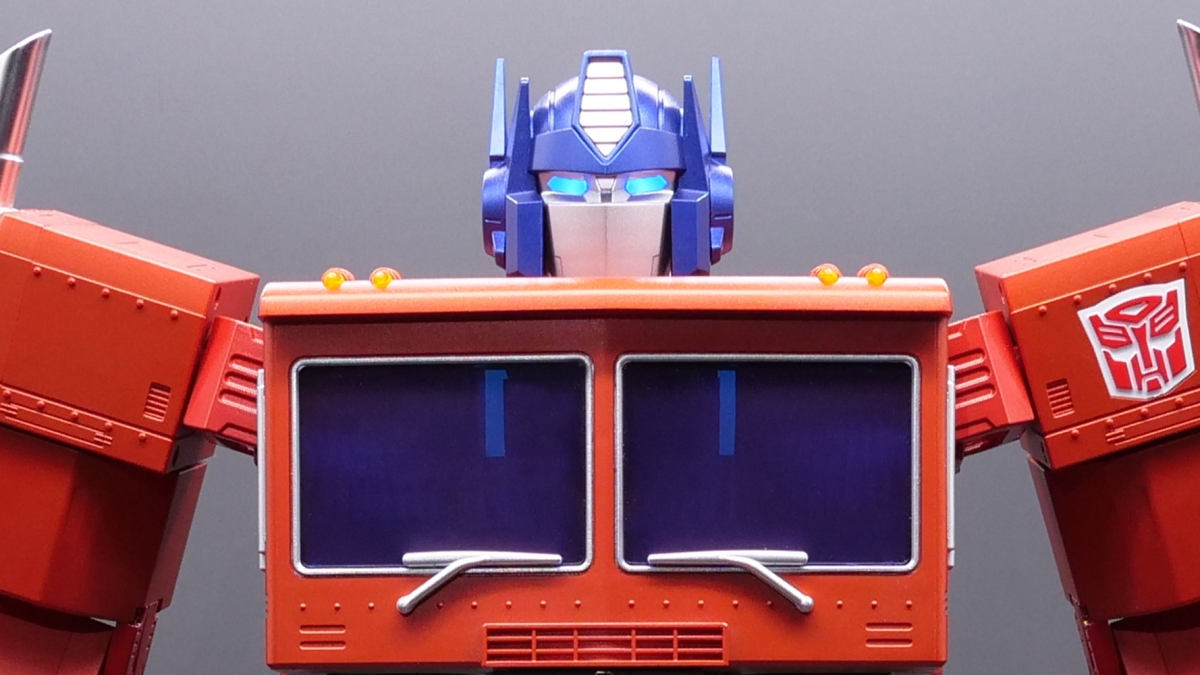 new Transformers collectible robot