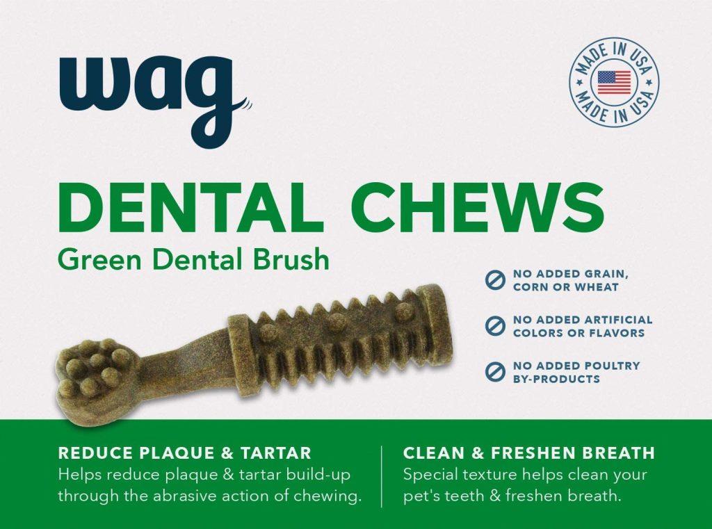 Amazon Wag Dental Chews
