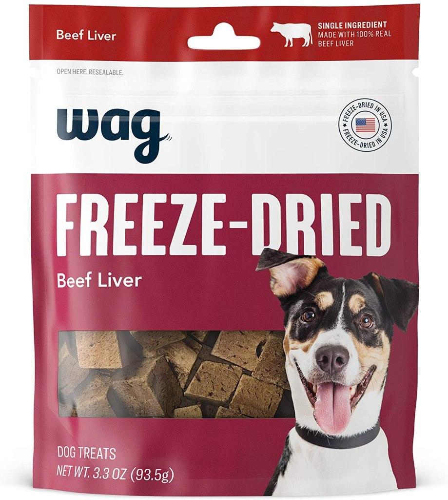 Amazon Wag Freeze Dried dog treats