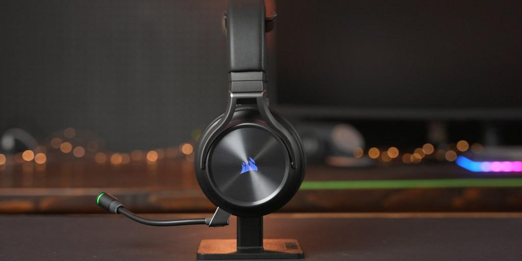 Design  is subtle and elegant on the Corsair Virtuoso RGB Wireless XT