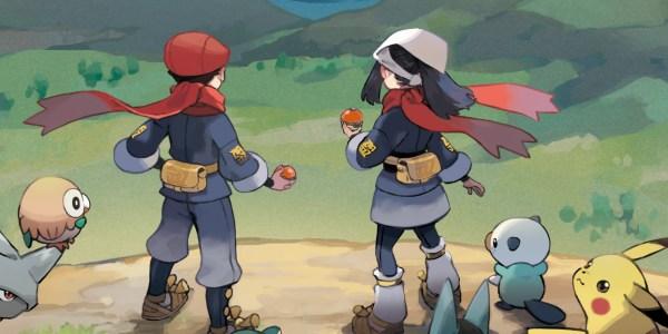 Pokémon Legend Arceus release date