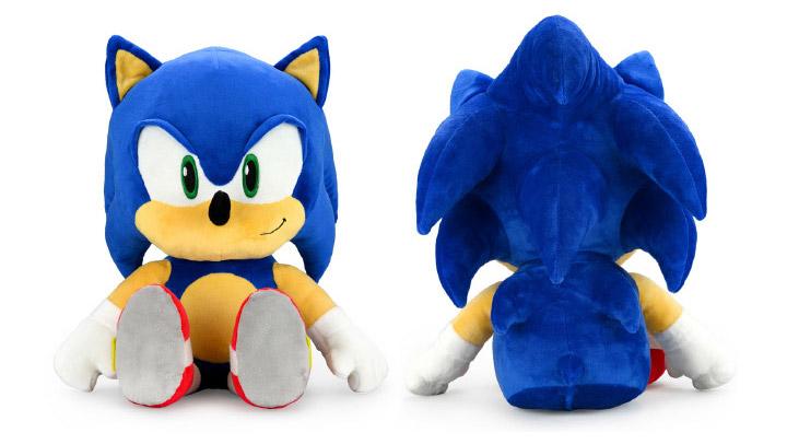 Sonic The Hedgehog HugMe Shake Action Plush