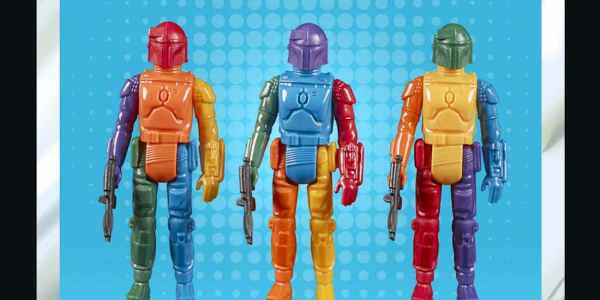 Star Wars Retro Boba Fett Prototype Edition collectible