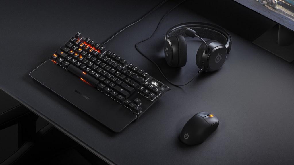 New Steel Series Prime gaming gear