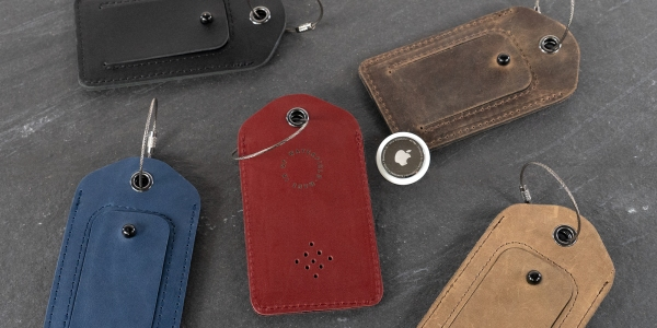 WaterField AirTag luggage tag