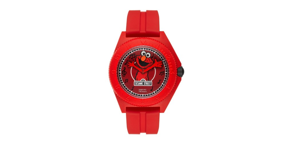 Bamford's Elmo Mayfair Sport watch on a blank white background.