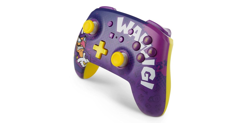 PowerA's Waluigi controller for Nintendo Switch