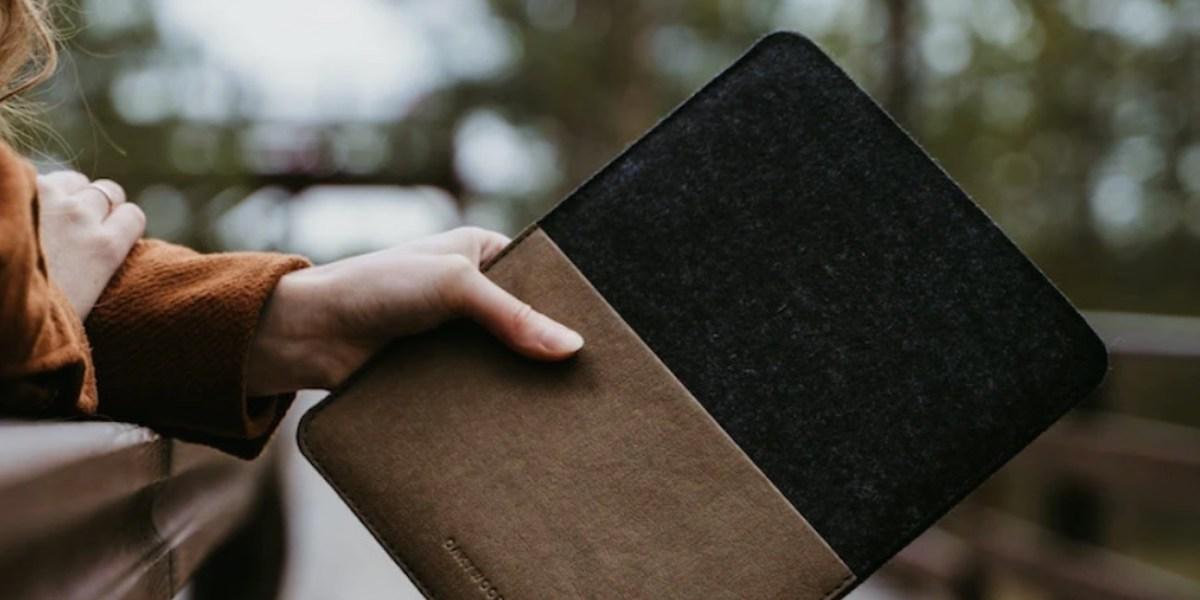 Washpapa Oakywood iPad and MacBook cases