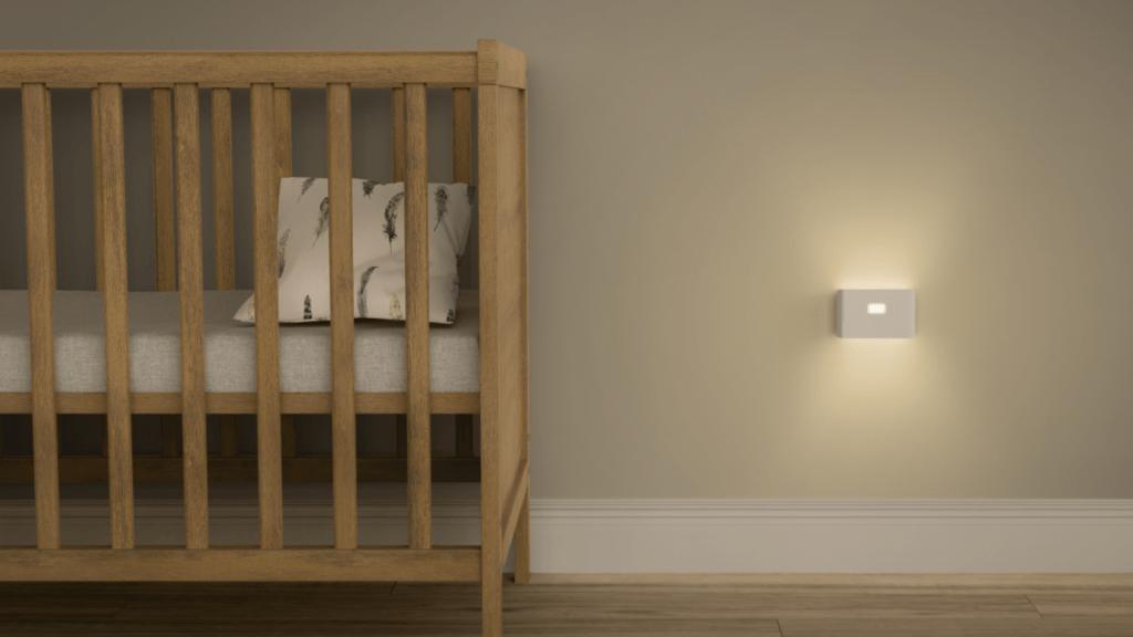 wyze night light baby room