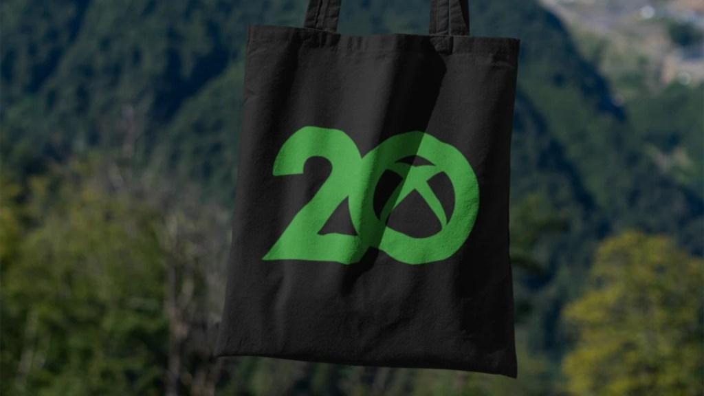 xbox 20 year anniversary tote