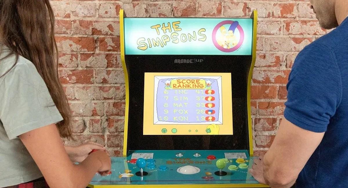Arcade1Up Simpsons arcade cabinet