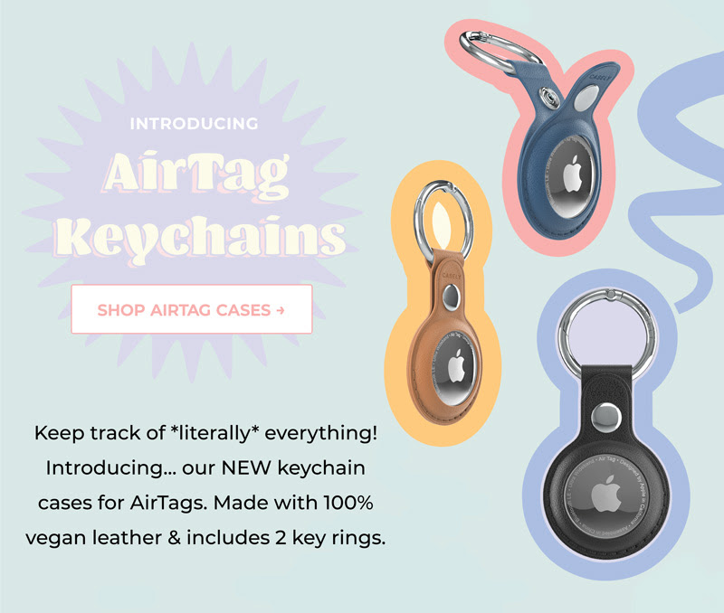 Casely AirTag keychains image