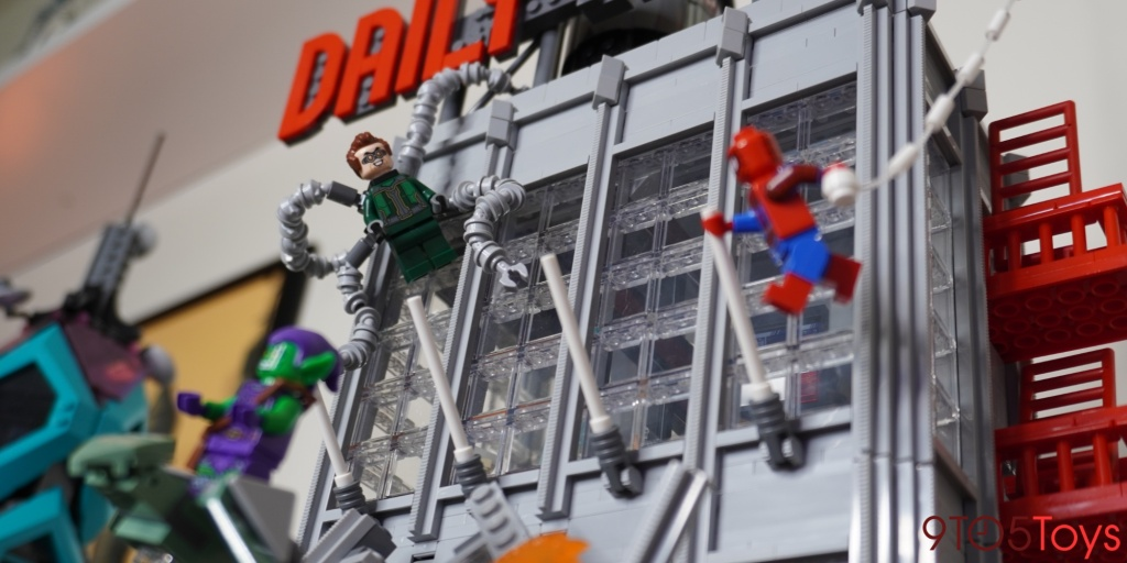 [daily bugle]Hands-on: LEGO's new 3,700-piece Daily Bugle delivers a massive build with tiny details