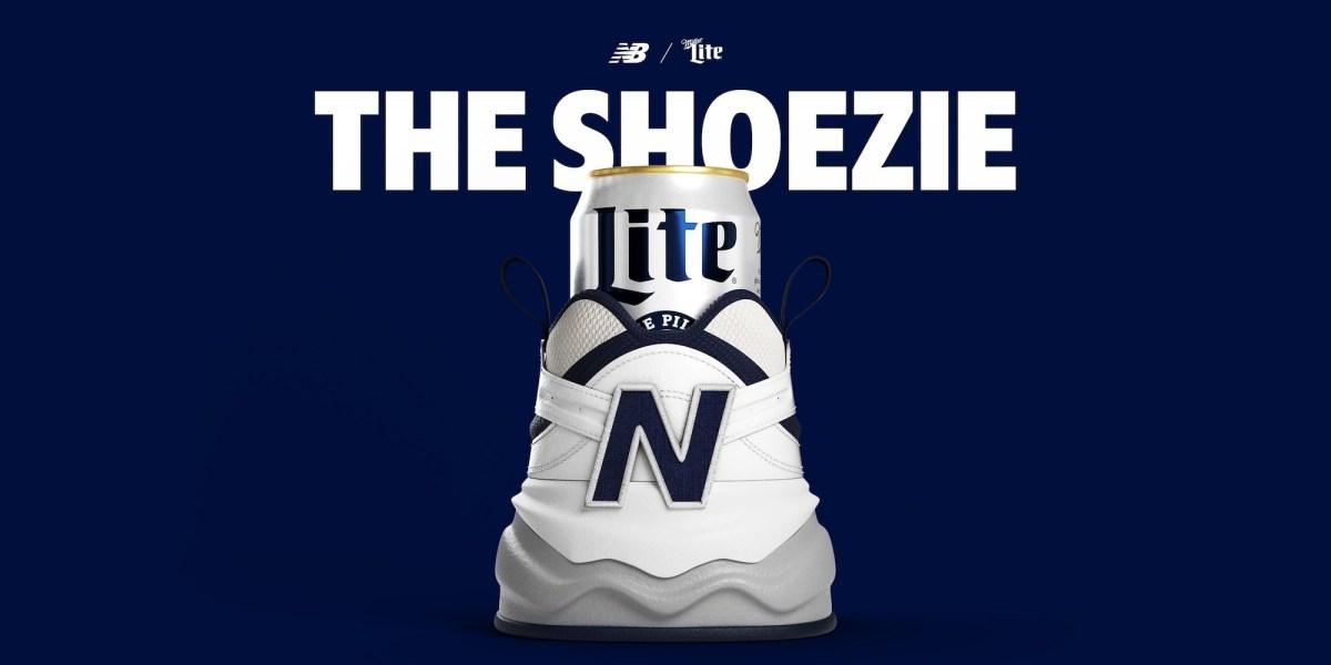 Miller Lite The Shoezie