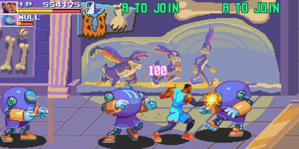Space Jam: A New Legacy - The Game has a classic arcade style.