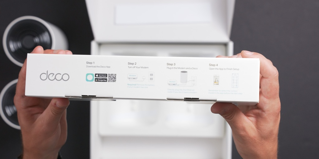 Setup instructions for the TP-Link Deco X68 are easy to find and follow.