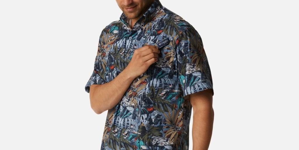 Columbia men's Star Wars Outer Rim Super Tamiami shirt
