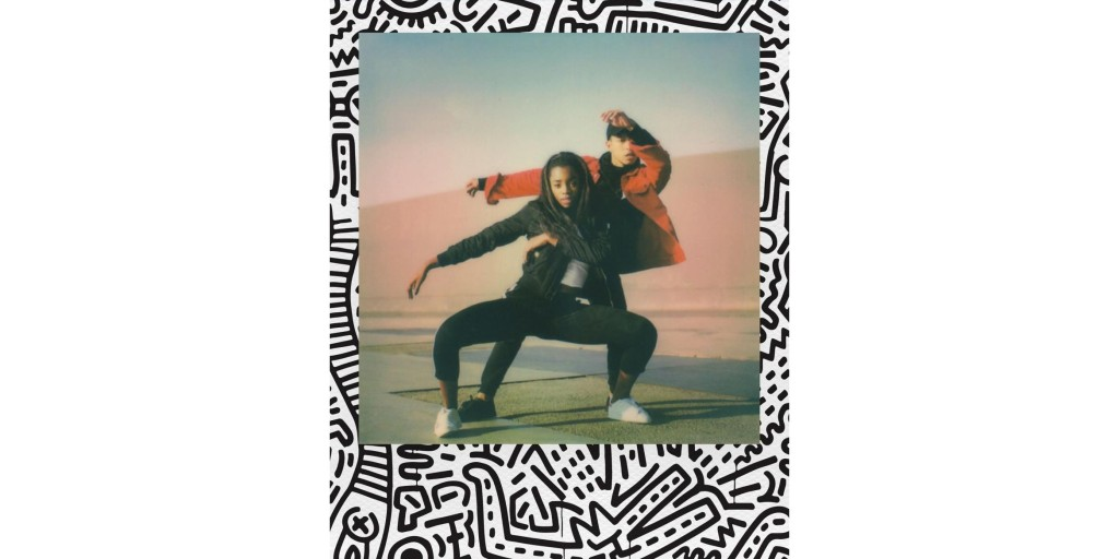 Polaroid x Keith Haring i-Type now color film