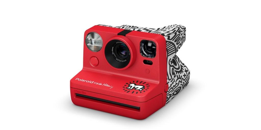 Polaroid x keith haring now i-type instant camera