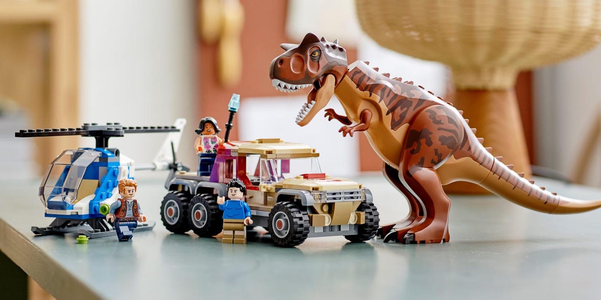 LEGO Jurassic World summer