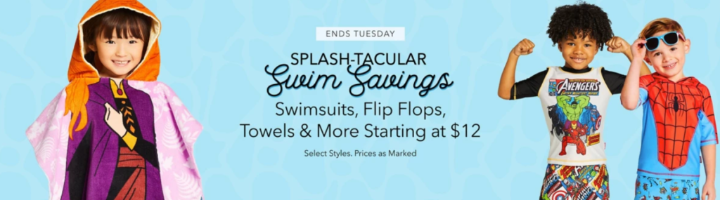 Disney swimwear sale