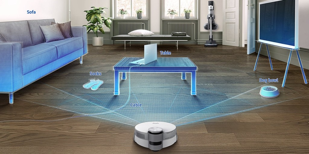 jet bot ai+ intelligent cleaning using 3D object recognition
