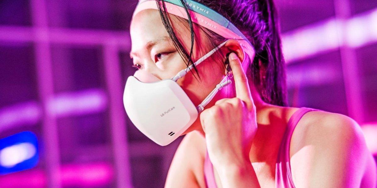 LG face mask