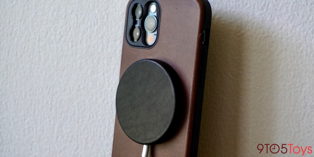 Nomad Leather MagSafe Cover