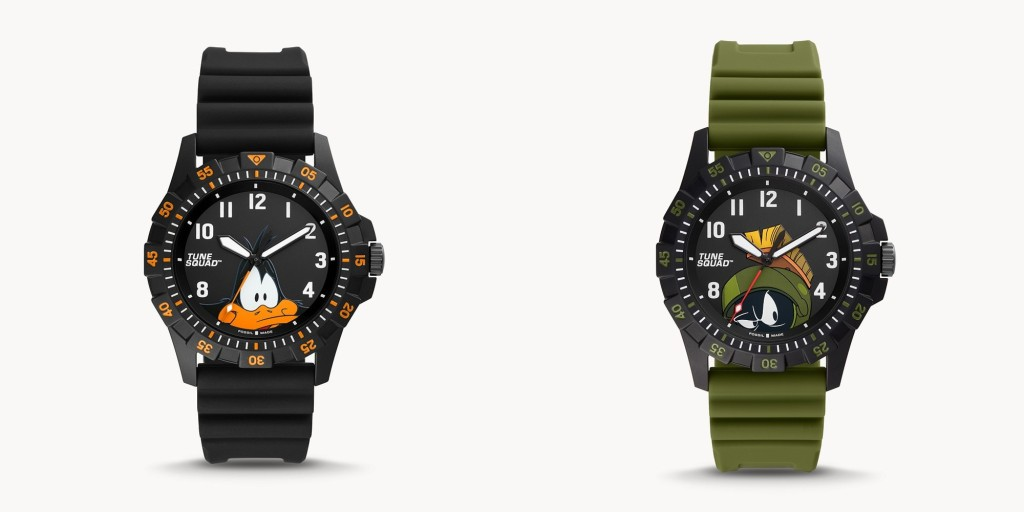 fossil space jam daffy and marvin the martian watches