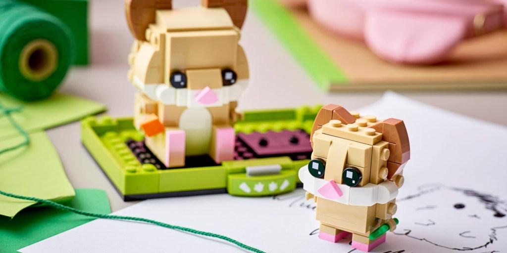 LEGO BrickHeadz hamsters