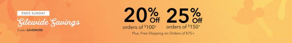 official Disney online store sale