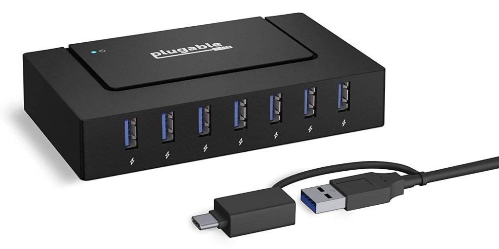 Plugable USB-C 7-in-1 charging hub