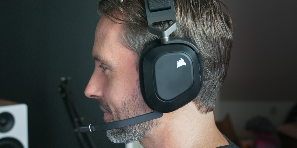 The Corsair HS80's microphone is one of the best I've heard on a wireless headset.