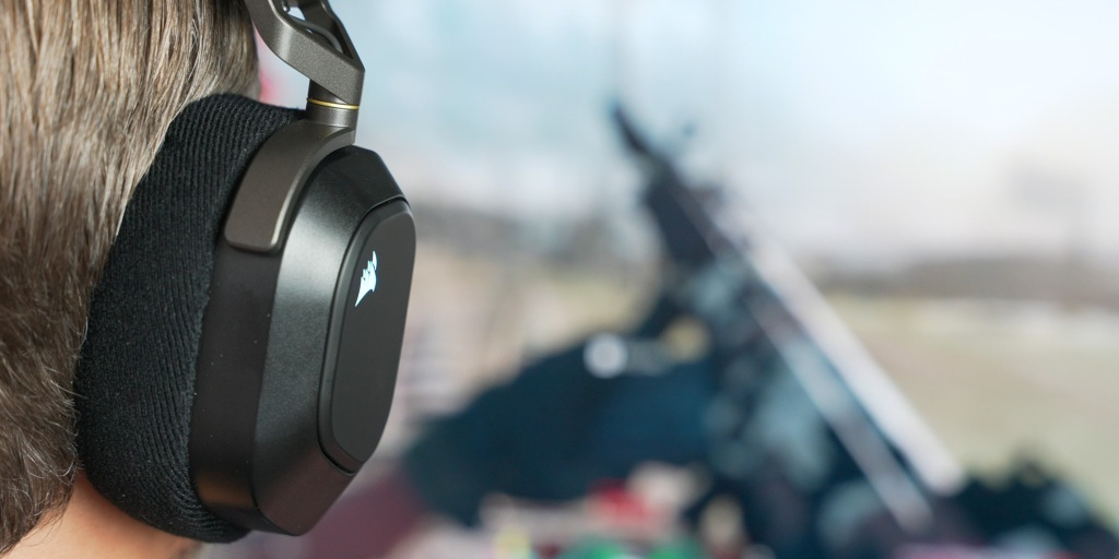 Dolby Atmos helps deliver detailed audio in competitive games on the Corsair HS80.