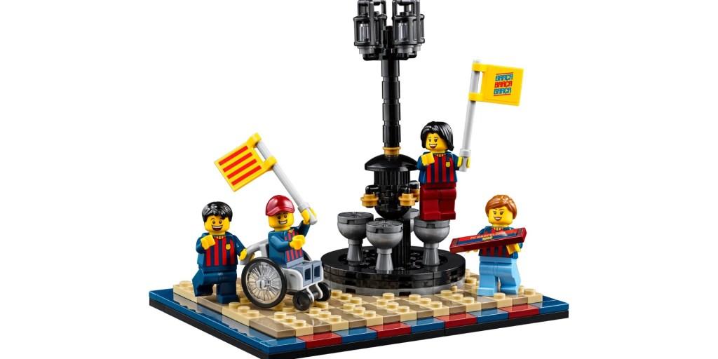 LEGO FC Barcelona Celebration