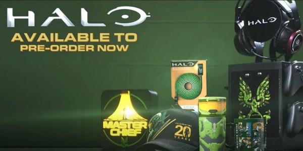 Halo Infinite merchandise line