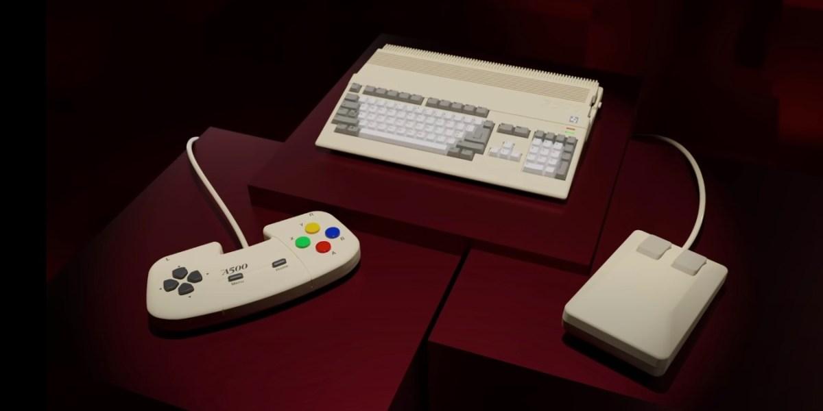 THEA500 Amiga mini console