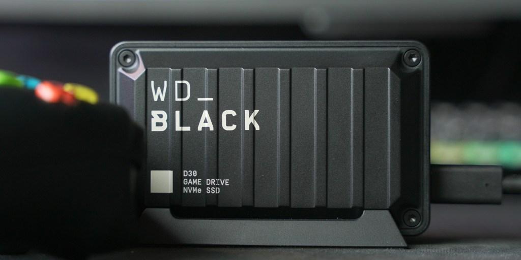 De WD Black D30 heeft een robuust ontwerp