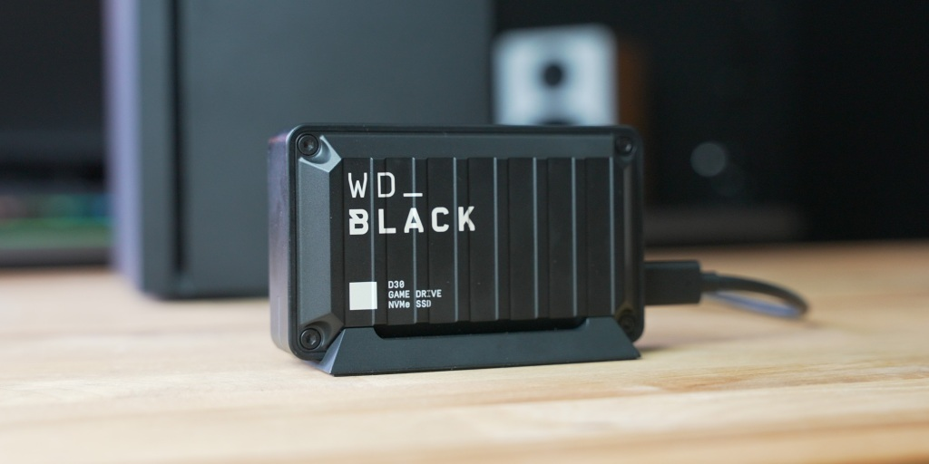 WD Black D30 is a nice companion to the Xbox Series X.